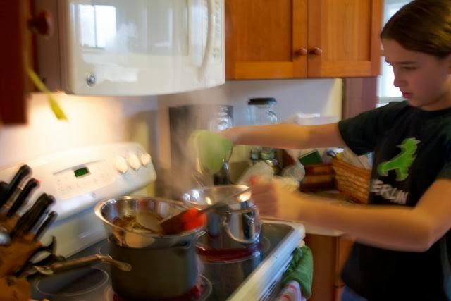 making ganache