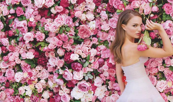 A VIDA EM ROSA DE MISS DIOR_Natalie Portman_Sofia Coppola_nova fragrancia da Dior_filme_comercial de perfume_novo trailer_miss Dior_flores_perfume floral