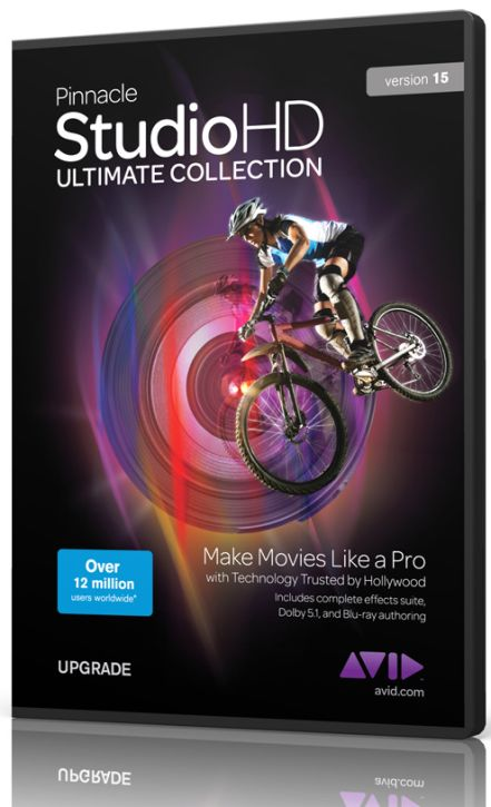 Free Pinnacle Studio 15 HD Ultimate Collection Full Version