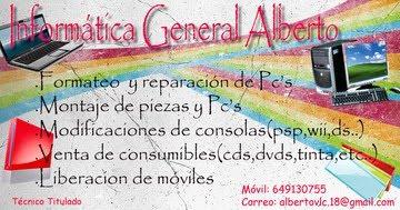 INFORMÁTICA EN GENERAL ALBERTO