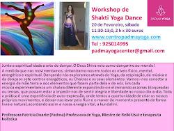 Shakti Yoga Dance Workshop: Descubra a sua  energia vital e acorde a Kundalini!