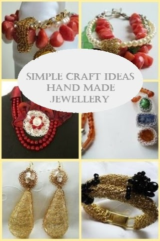 Simple Craft Ideas - Hand Made Jewellery