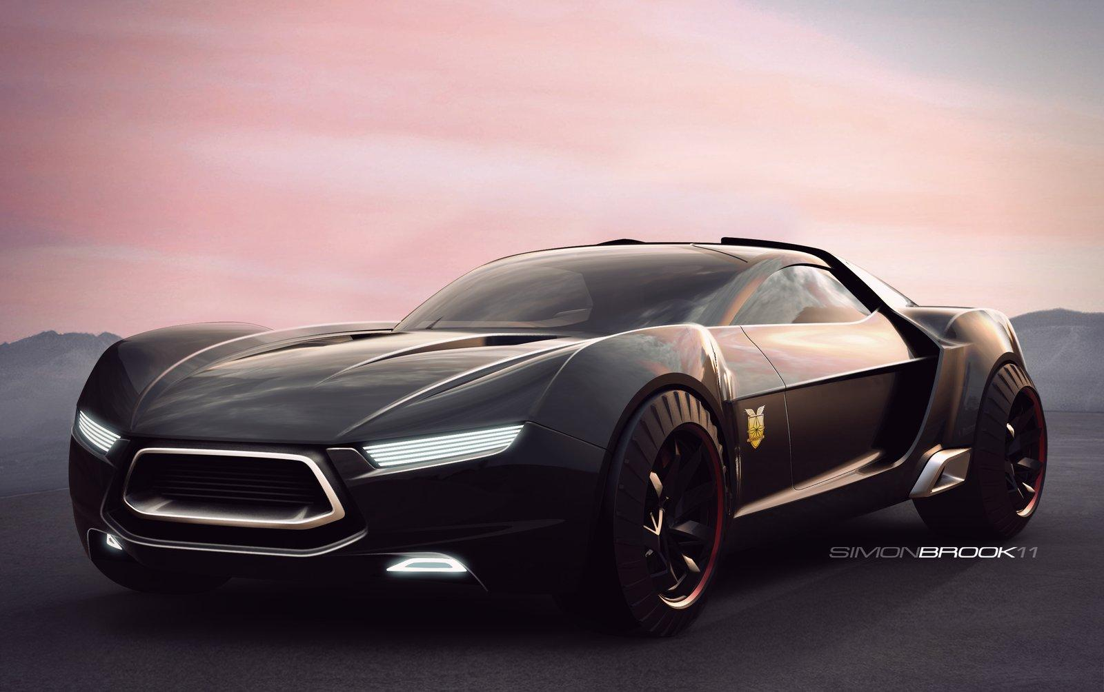 Ford Mad Max Interceptor Concept Car Ford Auto Car 2015