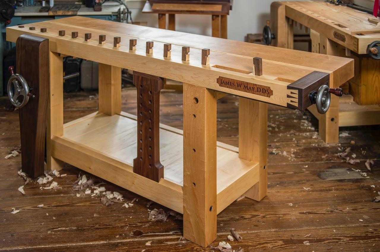 Столярный стол своими руками фото 15