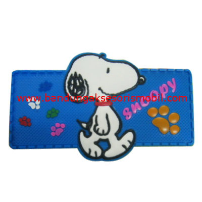 Dash Mat Snoopy Jalan ke Mall