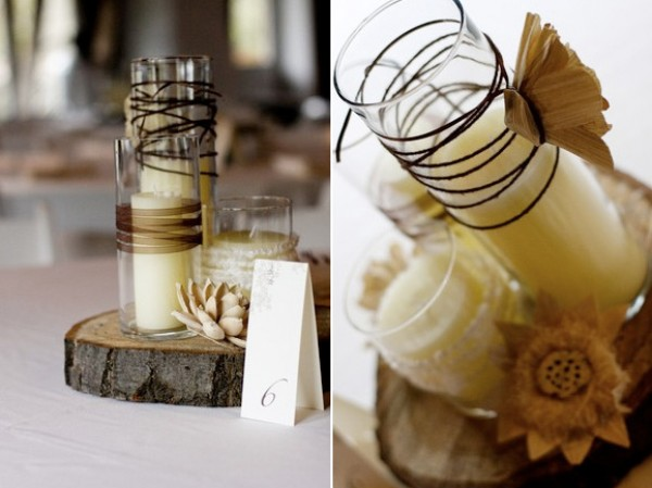 This cake is such a great idea to tie in the straw from the centerpieces