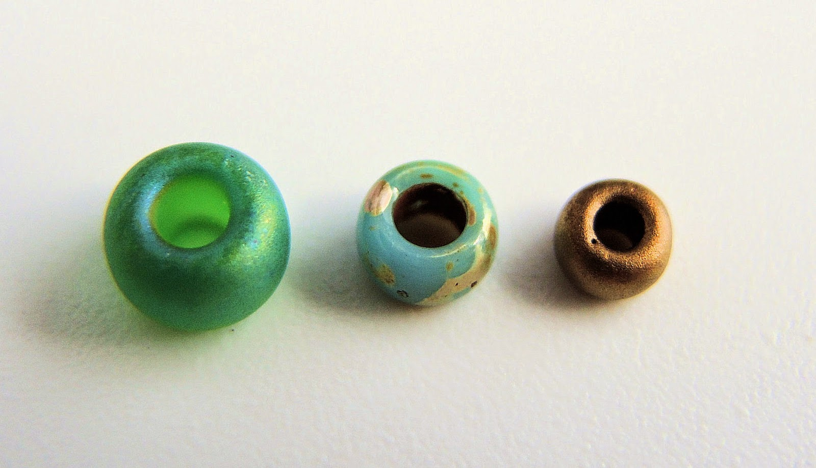 Bead size comparison