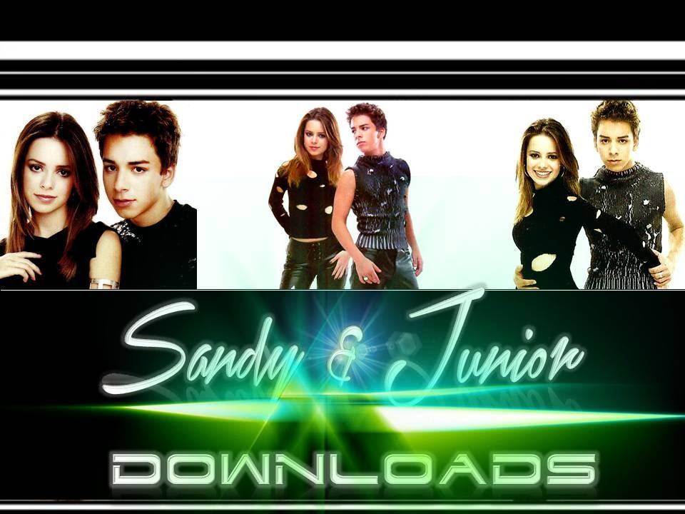Sandy & Junior Downloads: Encarte : CD Sandy & Junior - Sonho Azul