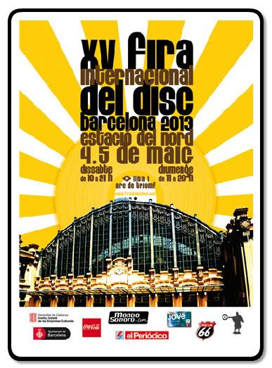XV Fira del Disc Barcelona Estació del Nord