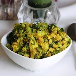 Stir fry brocoli