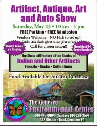 5-23 Artifact, Antique, Art & Auto Show