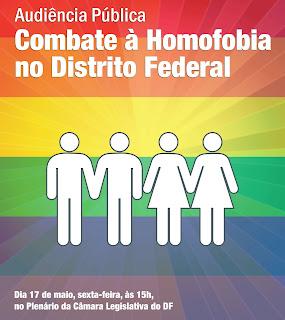 Câmara Legislativa realizará debate sobre o Combate à Homofobia no DF (Foto: Divulgação)