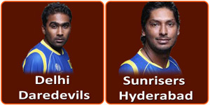 SRH Vs DD is on 4 May 2013