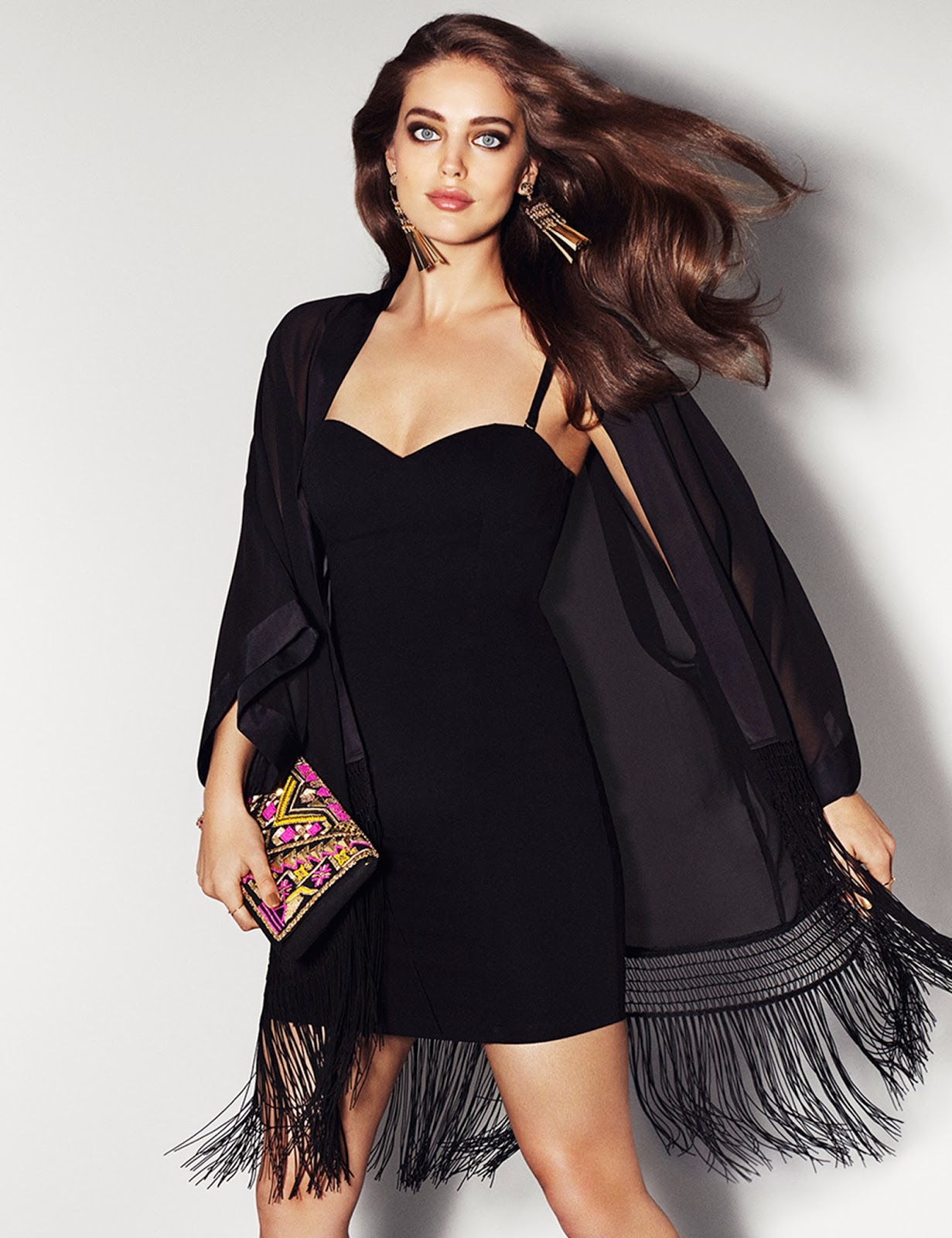 Emily Didonato H&M Night Collection