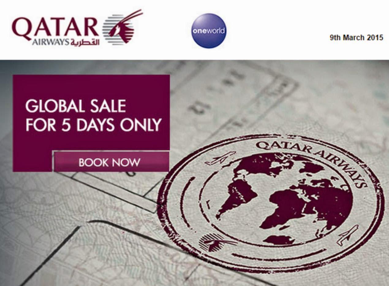 卡塔爾航空Qatar Airways【歐洲航線】全面7折,低至$4,409,7月前出發,只限5天。