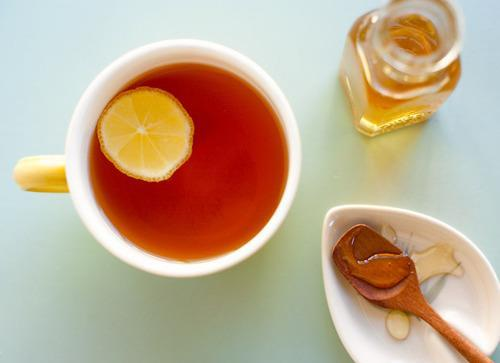 Icaria's: Cold relief: hot tea & lemons