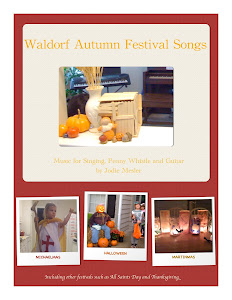 SALE! Waldorf Autumn Festival Songbook and Mp3s