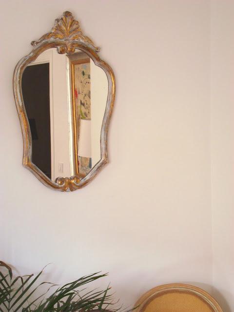 Comprar espejo dorado antiguo luis xv