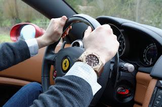 Hublot Big Bang Cappuccino Volant Ferrari California
