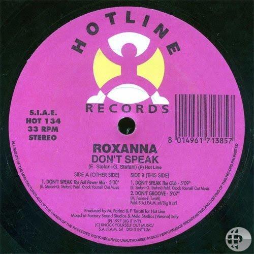 Roxanna - Don't Speak (2 Versions)