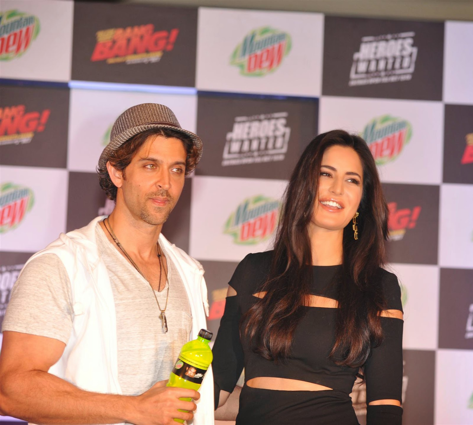 Hrithik & Katrina Launch Mountain Dew Heroes Wanted Campaign