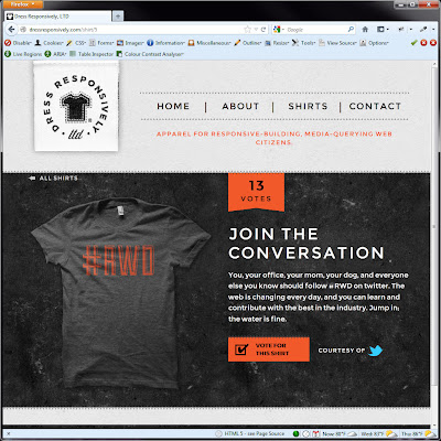 Screen shot of http://dressresponsively.com/shirt/5.