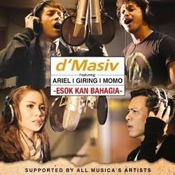 Download Lagu  Esok Kan Bahagia D'masiv feat Ariel NOAH, Giring Nidji, dan Momo Geisha