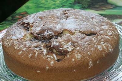 torta soffice per la colazione o merenda