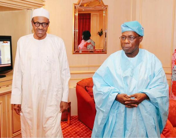 www.ekpoesito.com: Obasanjo visits Buhari at the president