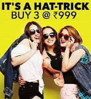 Jabong Buy 3 Fashion Product At Rs.999
