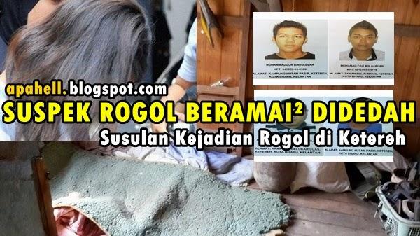 Suspek Rogol Beramai-Ramai Didedahan (6 Gambar)