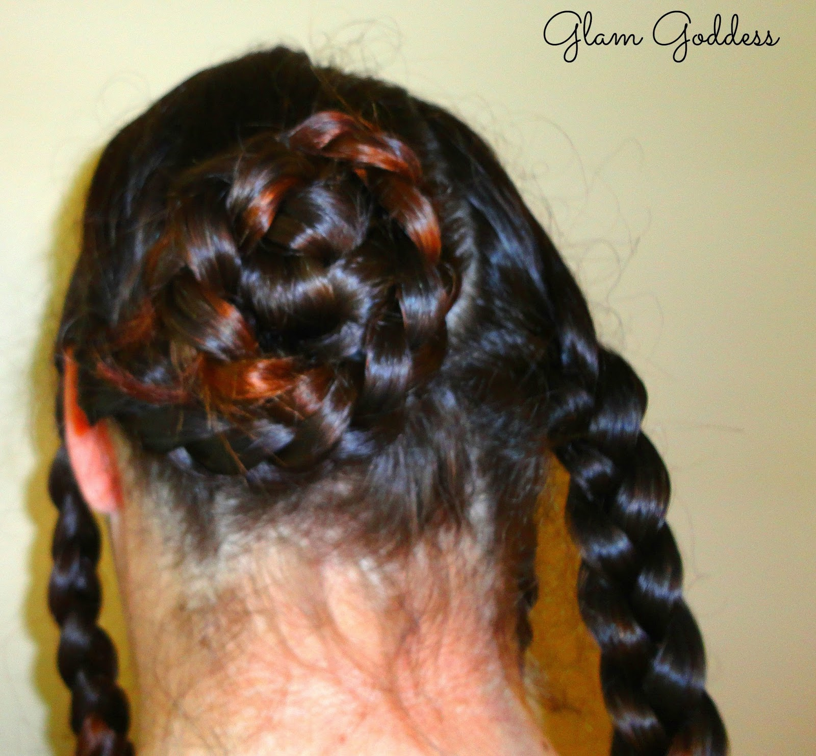 pictures Easy Glam: The Upside Down French Braid