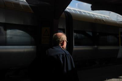 lokförare, tåg, järnvägsstation, göteborg, foto anders n