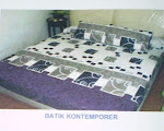 Sprei dan Bed Cover Set Katun Panca