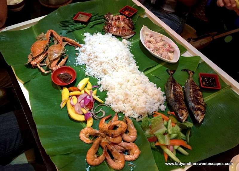 Boodle Fight at Asian Flavors