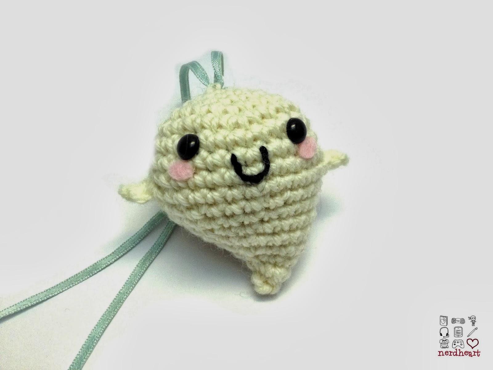 Nerdheart Finished Object Friday Tiny Crochet Ghost