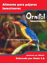 Alimento para aves insectívoras ORNITOL