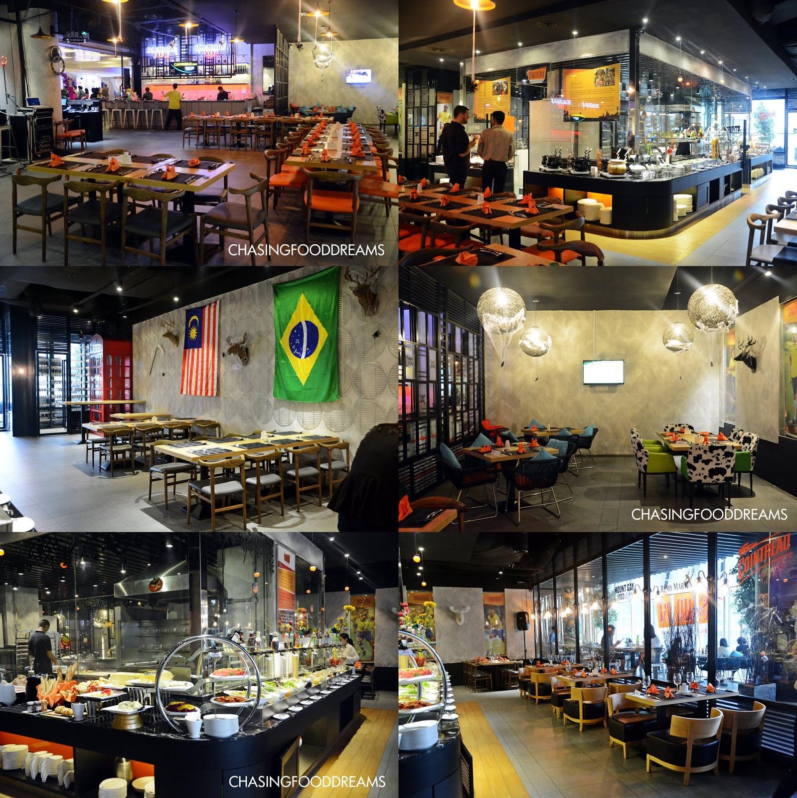 CHASING FOOD DREAMS Samba Brazilian Steak House Churrascaria Avenue K A Fabulous Churrasco