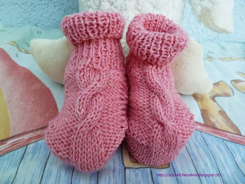 sch fchen silvia baby booties gr sse 3 6 monate. Black Bedroom Furniture Sets. Home Design Ideas