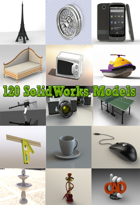 Free 3d Objects 120 Solidworks 3d Models