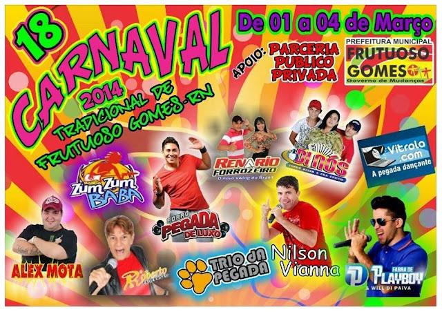 Carnaval De Rua é Aqui Frutuoso Gomes