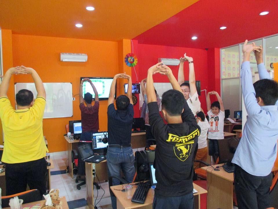 Stretching di tempat Kursus website