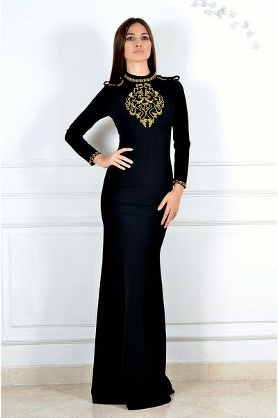 Look Smart in Arabic Parties with Gowns