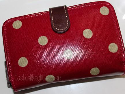 Cath Kidston Spot Folded Wallet.