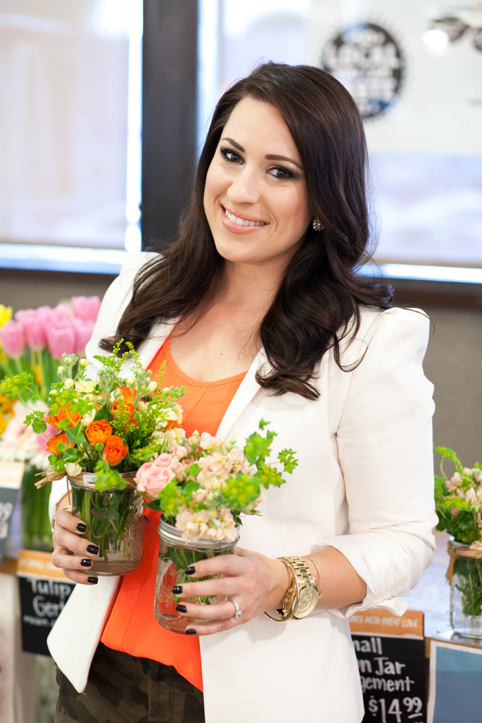 summer blooms, whole foods market event