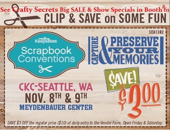 Save $3.00 at CK Show Nov 8-9