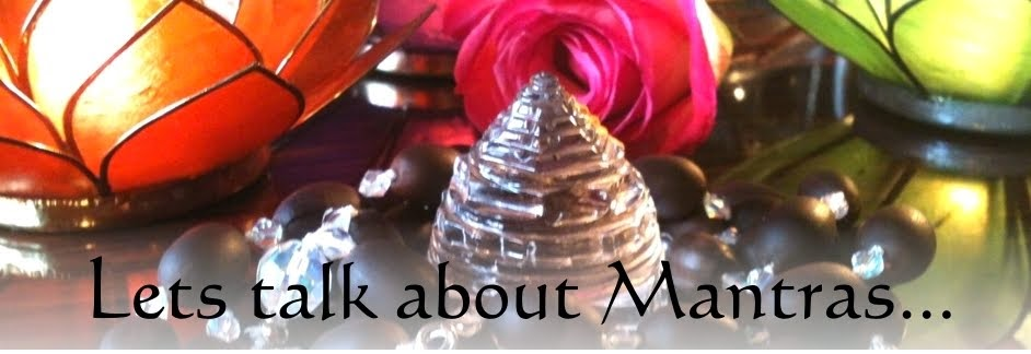 Let's talk about Mantras