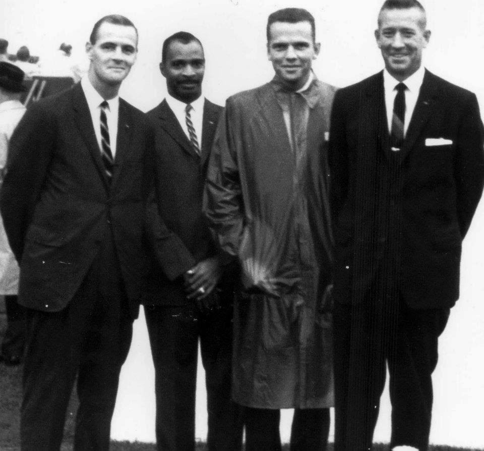 SAs Hamilton Brown, Robert Faison, Ronald Pontius, and Art Godfrey