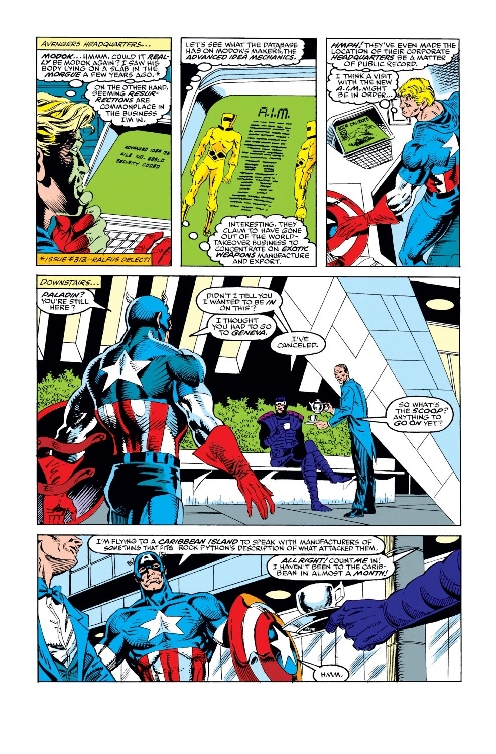 Captain America (1968) Issue #387 #320 - English 7