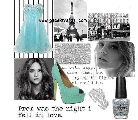 En Şık Gece Elbiseleri Kombinleri